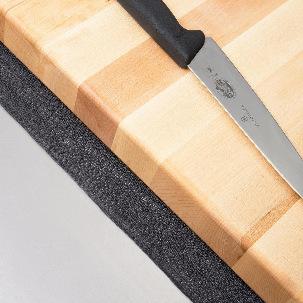 """Board Buddy 12"""" X 18"""" Black Non-Slip Cutting Board Mat"""