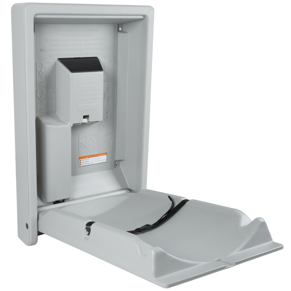 Koala Kare Kb101 01 Vertical Baby Changing Station Table