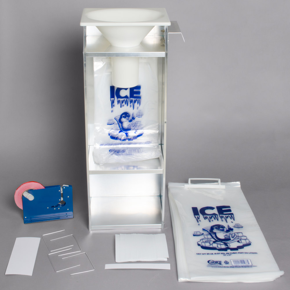 Regency Ice Bagger Starter Kit for 20 lb. Ice Bags