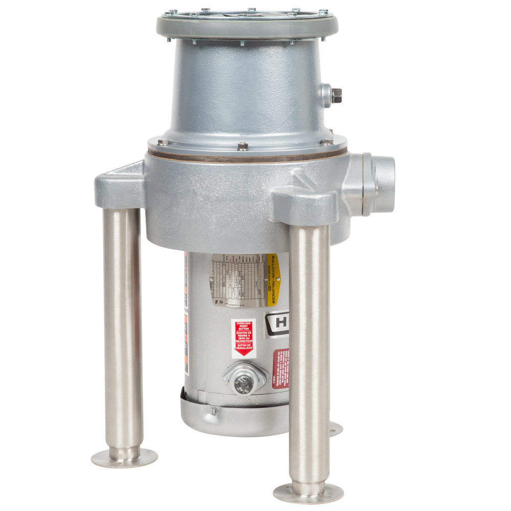 Hobart FD4/200-1 Commercial Garbage Disposer with Adjustable Flanged Feet -  2 hp ...
