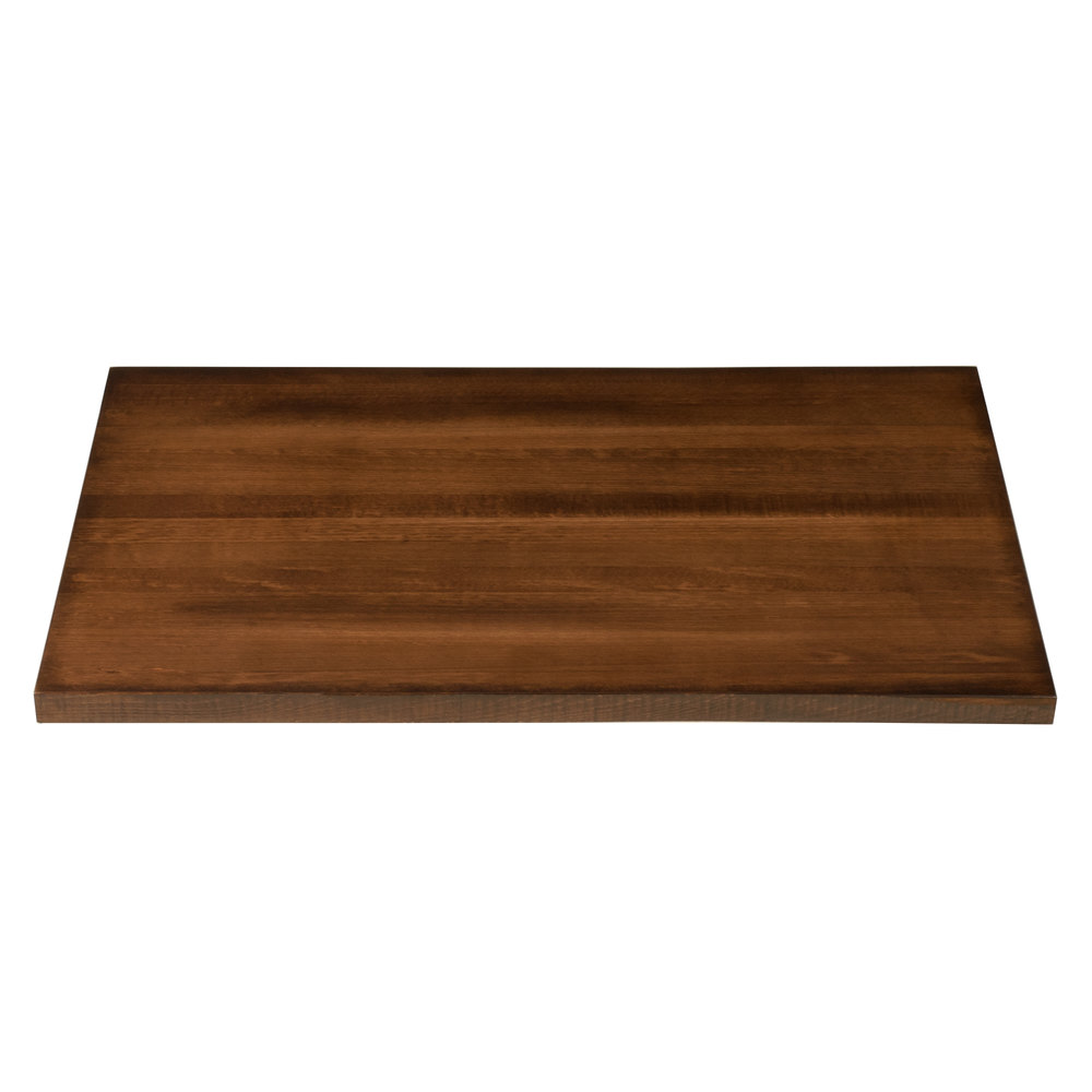Lancaster Table Seating 24 X 30 Solid Wood Live Edge Table Top With Antique Walnut Finish