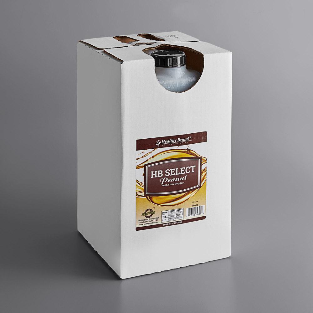Boxed Healthy Brand 100% peanut oil