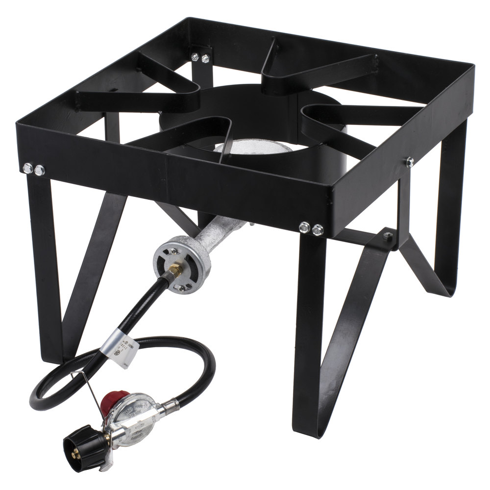 Gas Burners For Boilers : Backyard pro square single burner outdoor patio stove