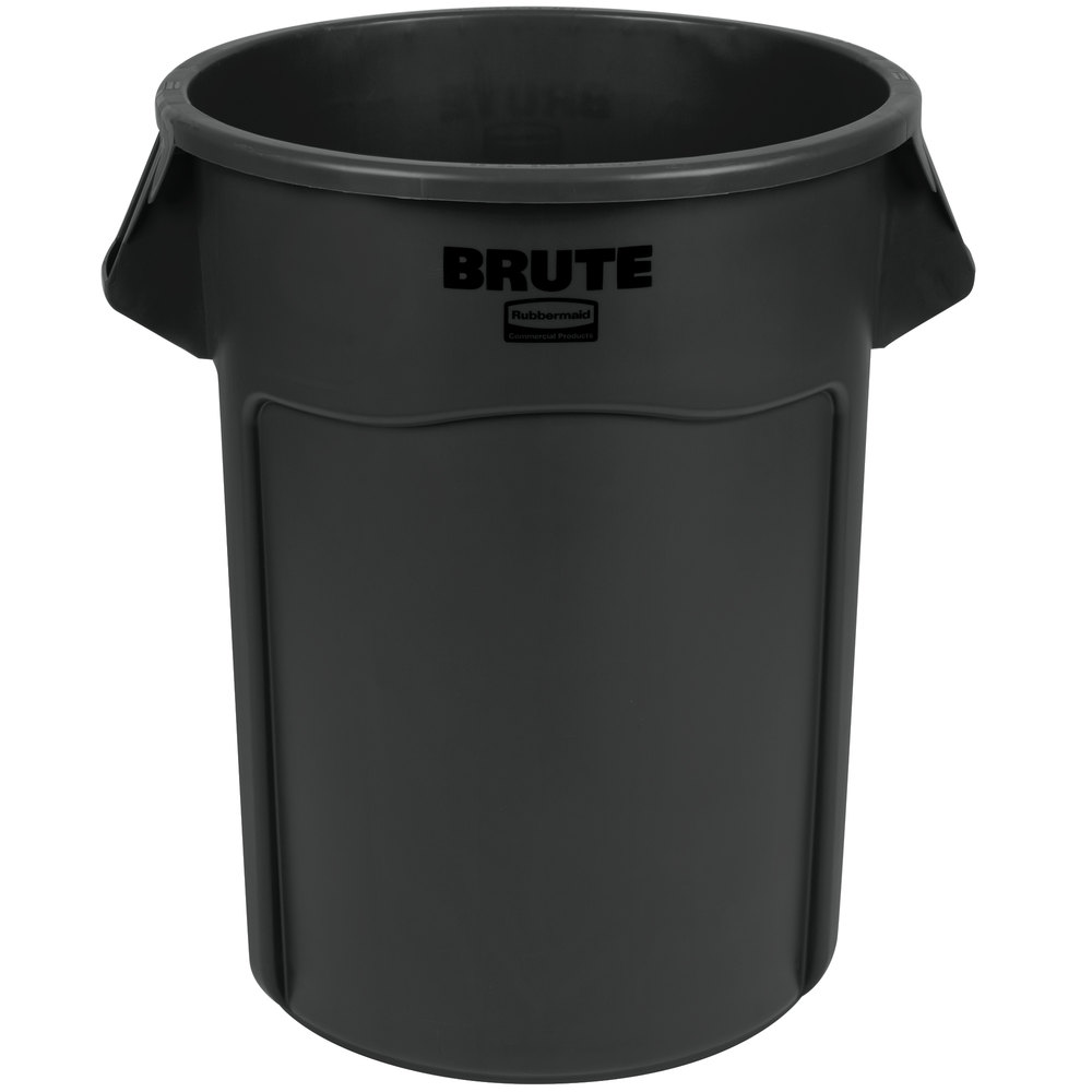 rubbermaid 1779739 brute 55 gallon black executive trash can. Black Bedroom Furniture Sets. Home Design Ideas