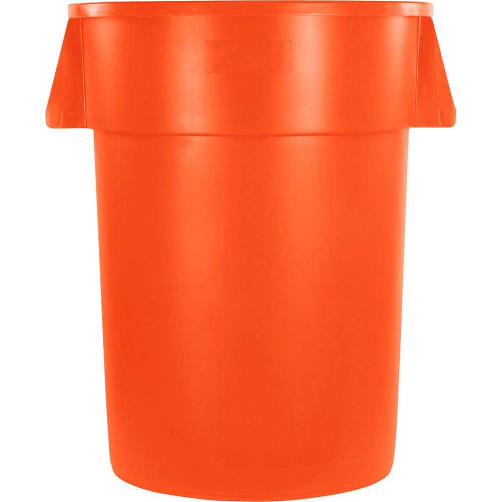 Yellow Bullet Trash Can