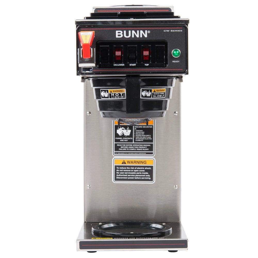 Bunn Coffee Maker Initial Setup : Bunn Coffee Maker 12 Cup Model Vpr Works Great. Bunn Tb6 Dual Twin 3 Gallon Commercial Iced Tea ...