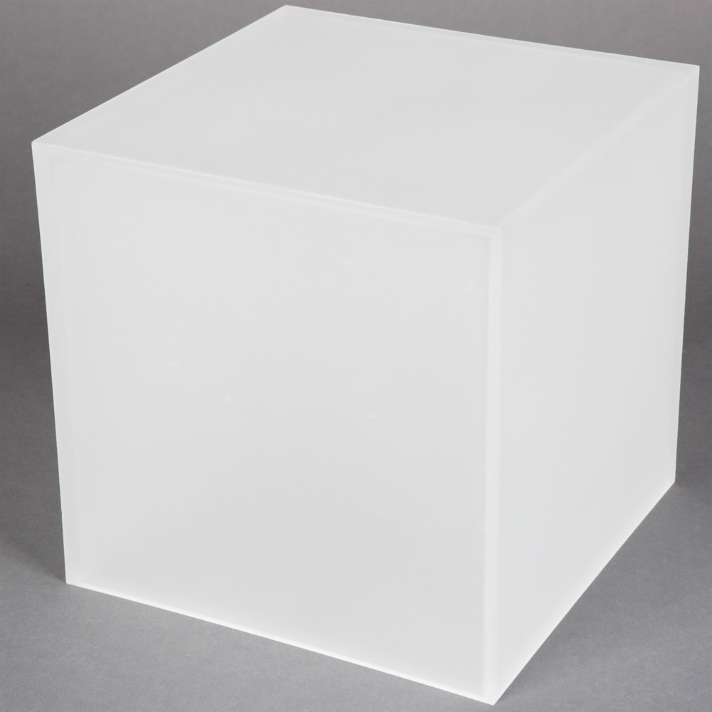 American Metalcraft Ac579 Set Of Three Frosted Acrylic