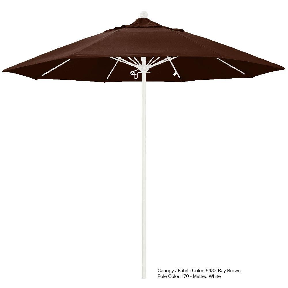 ... Image Preview ...  sc 1 st  WebstaurantStore & California Umbrella ALTO 908 SUNBRELLA 2A Venture 9u0027 Round Push ...