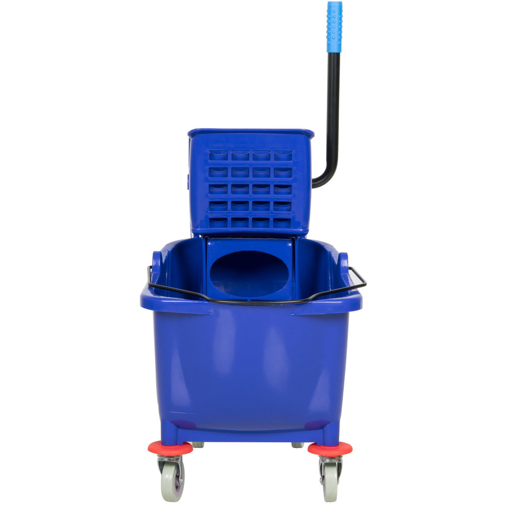 Lavex Janitorial 36 Qt Blue Mop Bucket Amp Wringer Combo