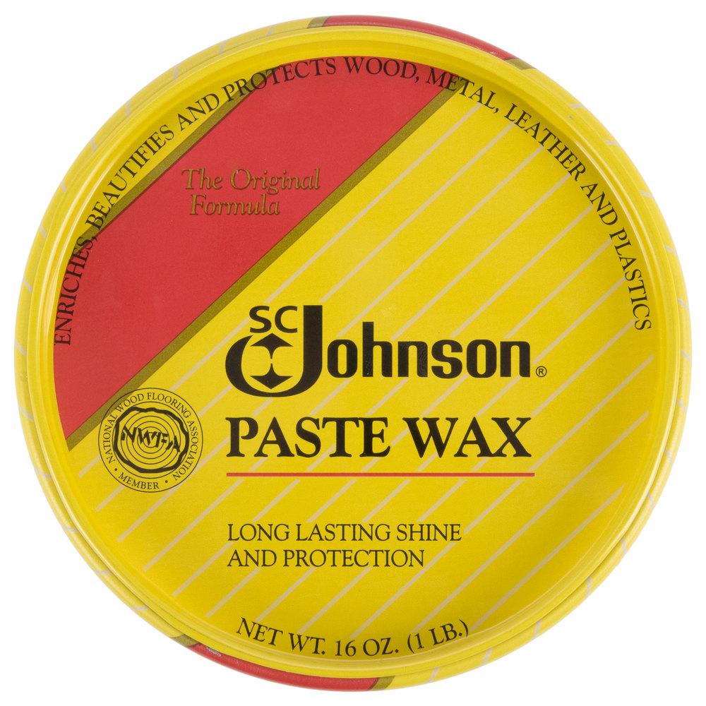 Diversey Sc Johnson Cb002038 1 Lb Wood Paste Wax 6 Case