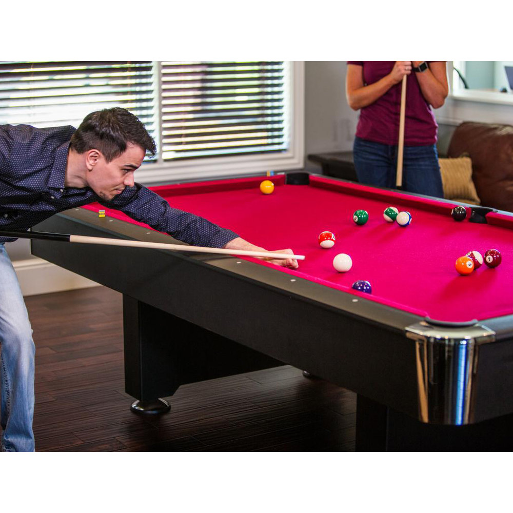 Mizerak p5223w1 donovan ii 8 39 slate billiard pool table for 1 slate pool table
