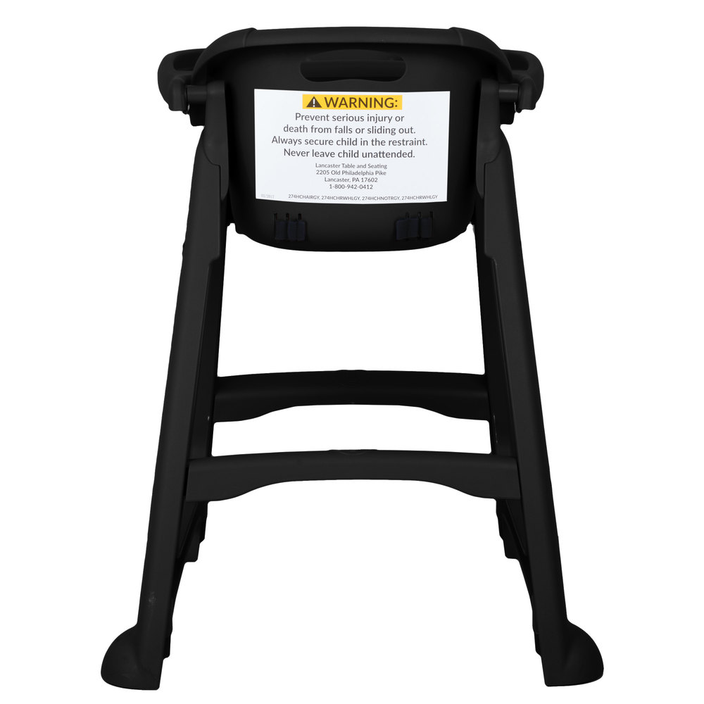 restaurant style high chair with tray. image preview restaurant style high chair with tray