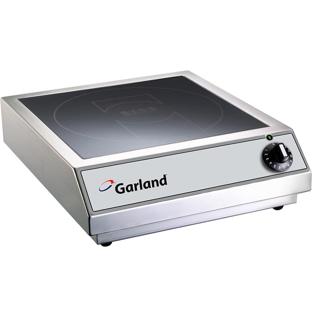 garland gi sh ba 3500 countertop induction range 208v 3 5 kw. Black Bedroom Furniture Sets. Home Design Ideas