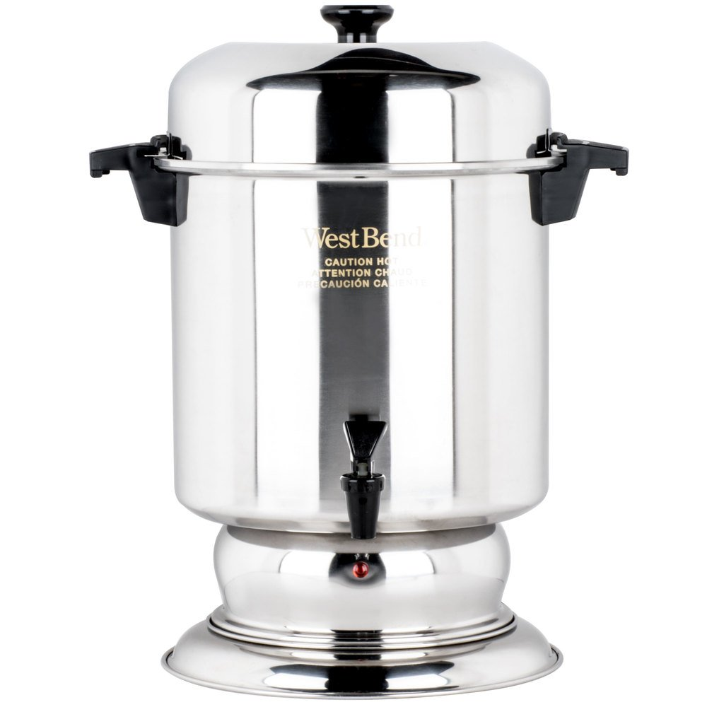 Stainless Steel Coffee Urn Regalware K1355 55 Cup (2.2 Gallon)