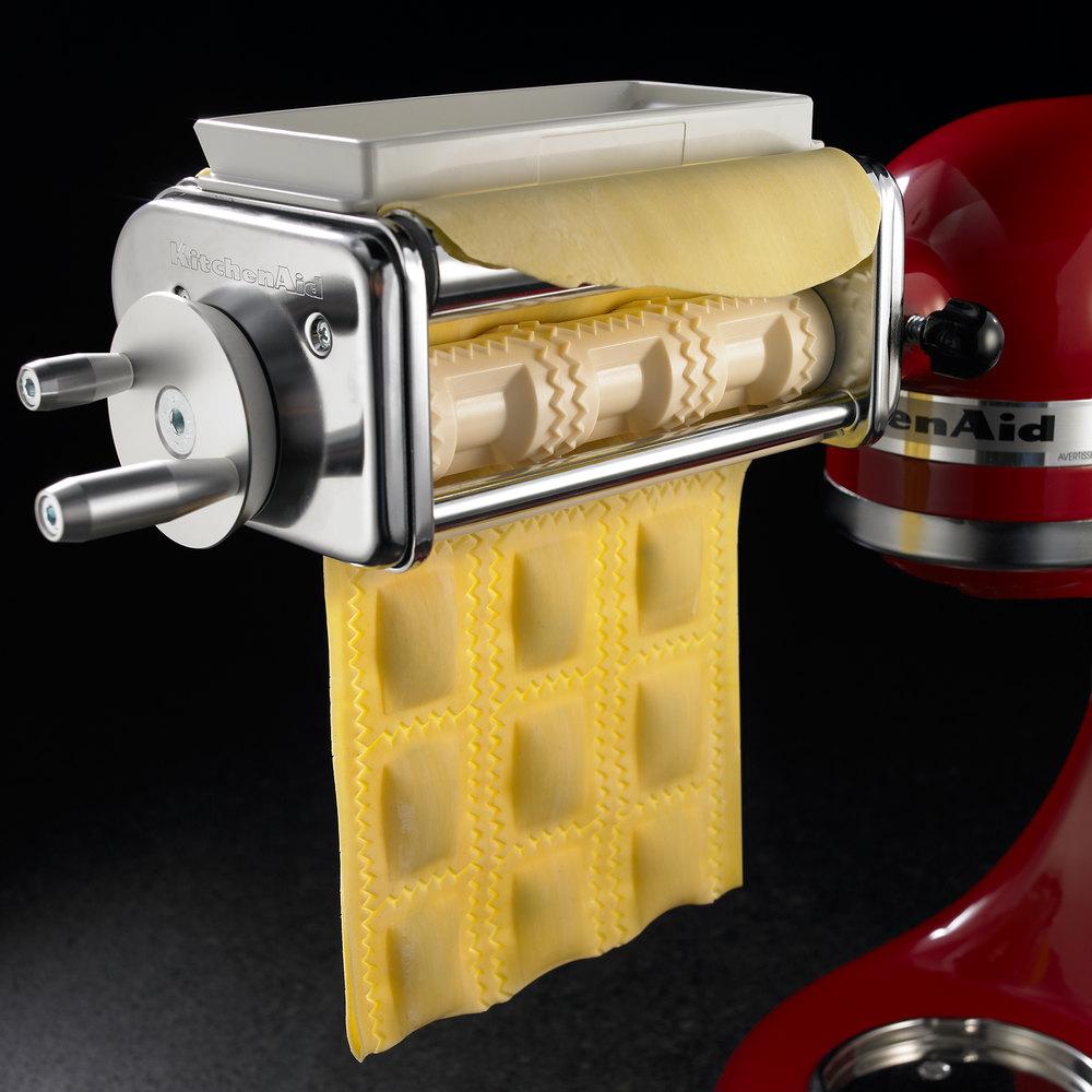 Kitchenaid Attachments Pasta Kitchenaid Krav Ravioli Maker Attachment For Kitchenaid Stand Mixers