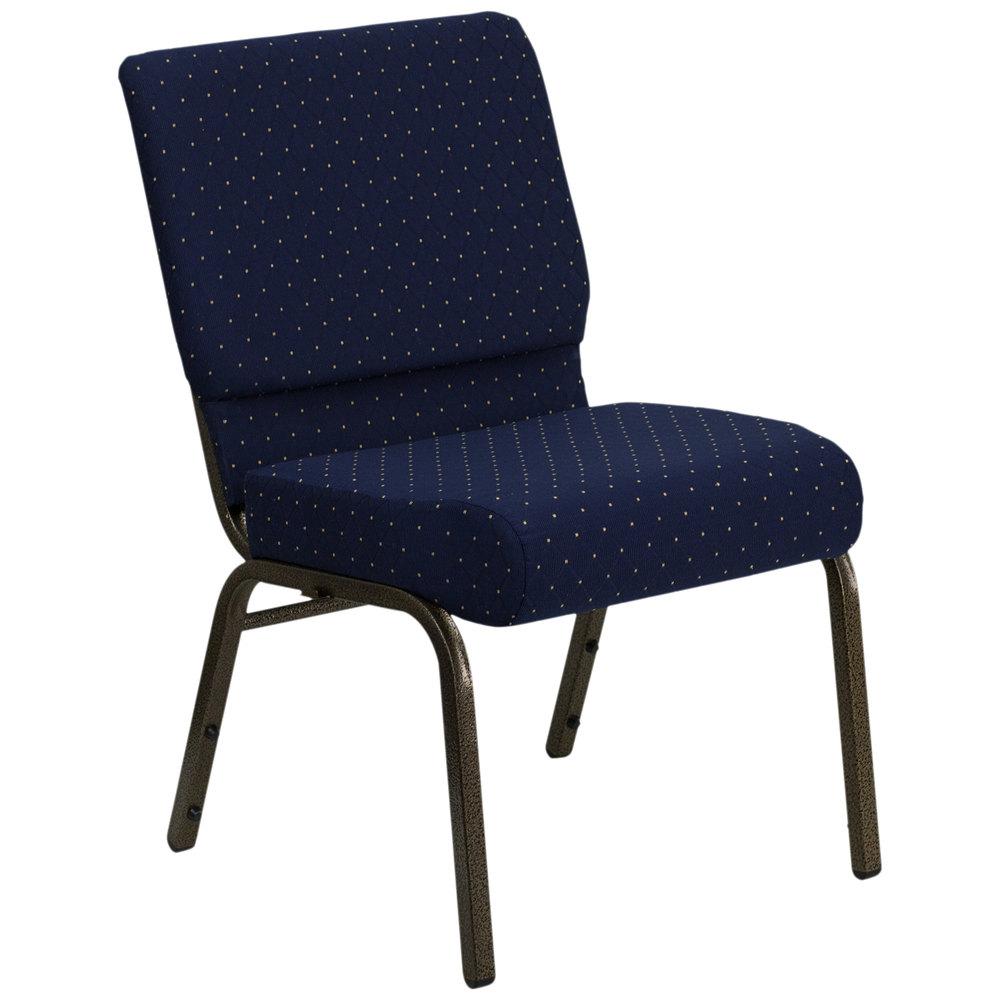 Flash Furniture FD CH0221 4 GV S0810 GG Navy Blue Dot ...