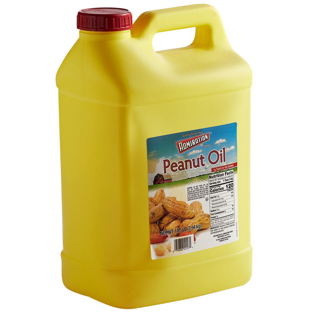 Jug of Admiration 17.5 lb. 100% peanut oil