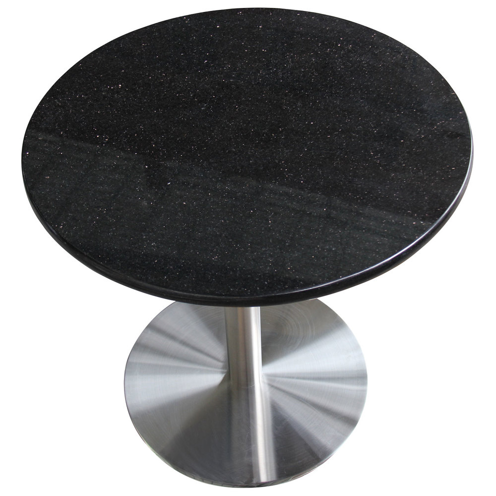 Art Marble Furniture G206 36 Quot Round Black Galaxy Granite