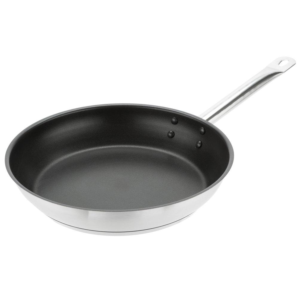 Vigor 11 Quot Non Stick Stainless Steel Aluminum Clad Fry Pan