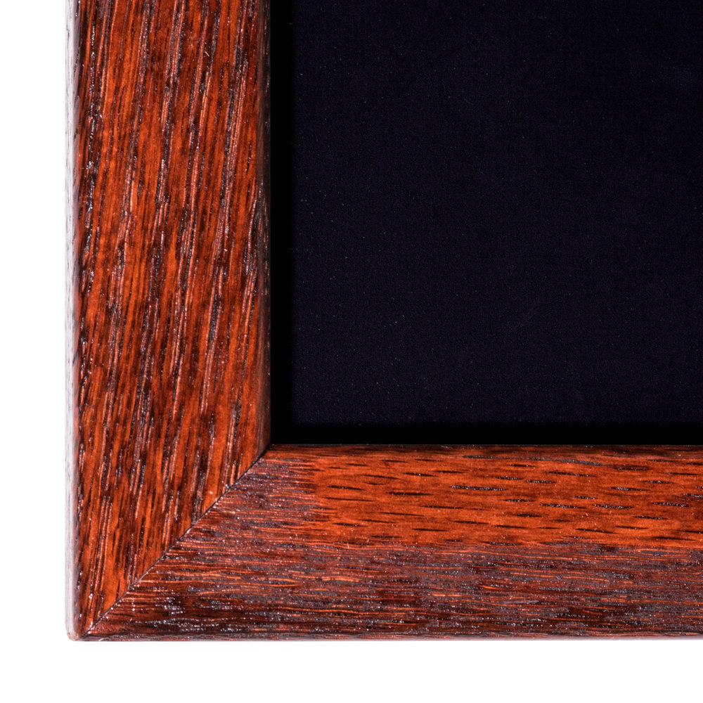 aarco 36 u0026quot  x 60 u0026quot  mahogany frame black chalk board