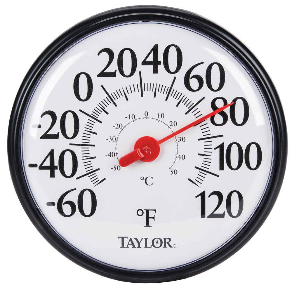Taylor 6700 12 Inch Large Dial Thermometer ...