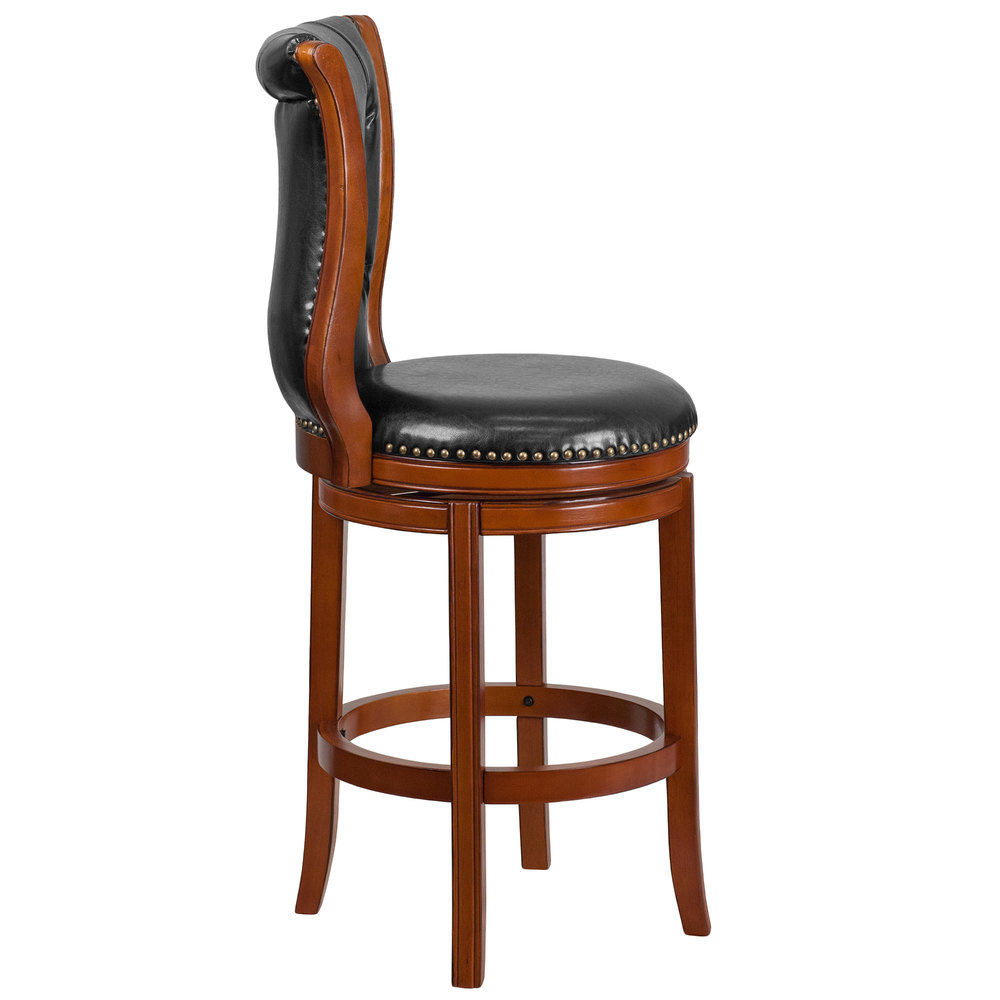 Flash Furniture Ta 2301230 B Gg Brandy Wood Bar Height