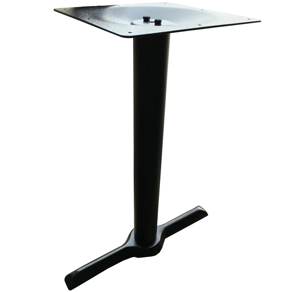 Art marble furniture b10 0522h 22 x 5 black cast iron for Cast iron end table