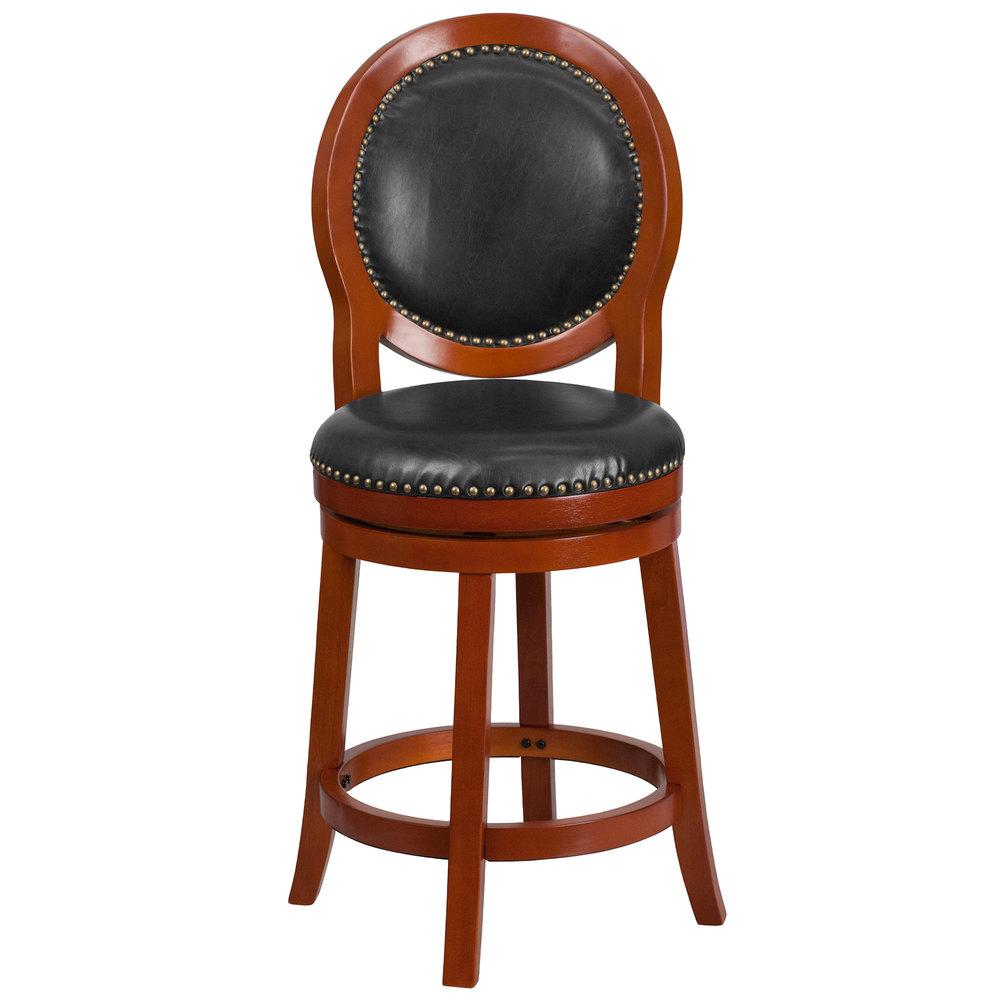 Flash Furniture Ta 550126 Lc Gg Light Cherry Wood Counter