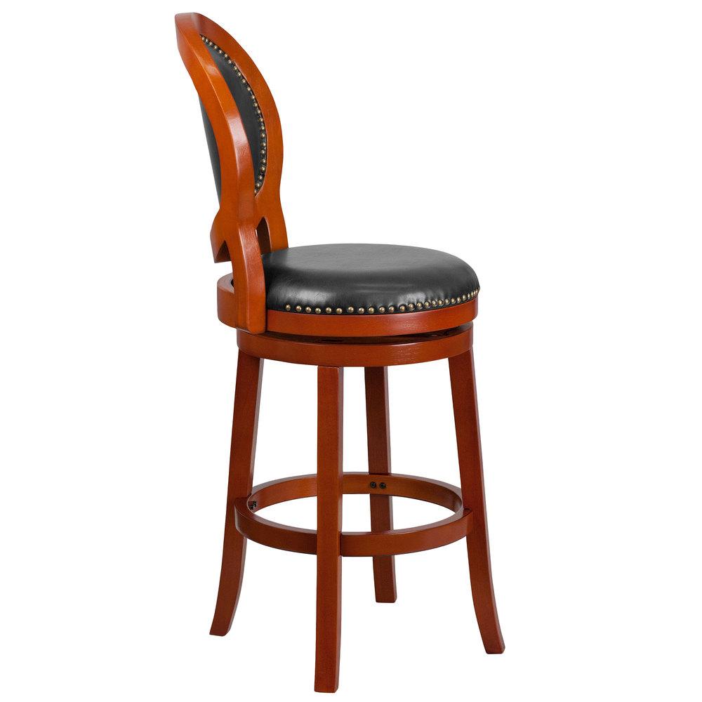 Flash Furniture Ta 550130 Lc Gg Light Cherry Wood Bar