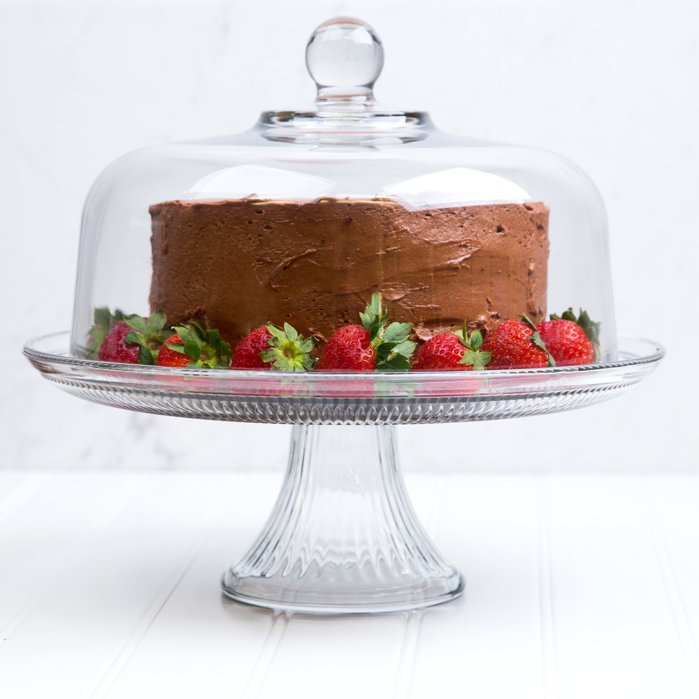 Cake Stand And Punch Bowl