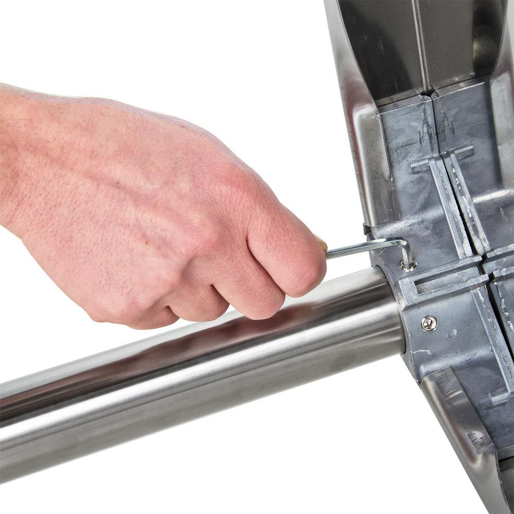 regency 30 x 72 16 gauge stainless steel commercial work