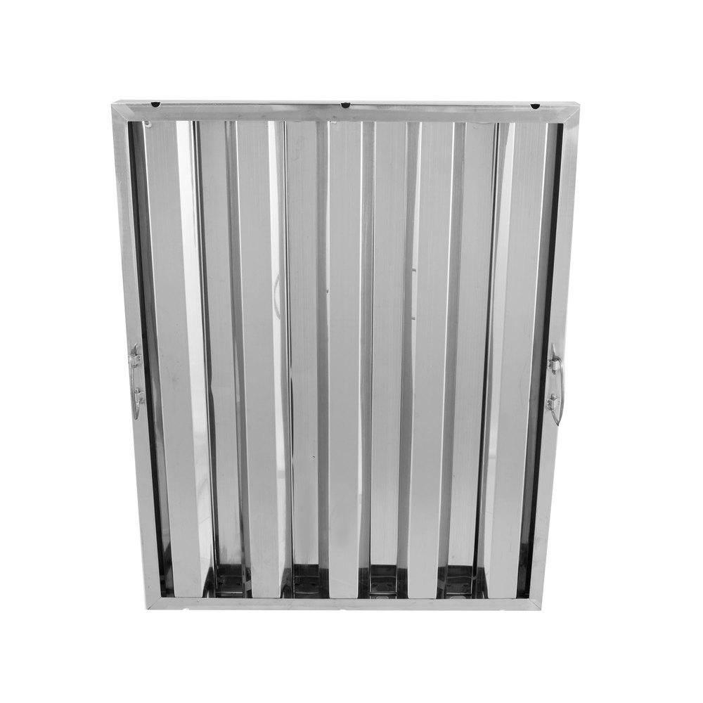 Regency 25 inch x 20 inch x 2 inch Stainless Steel Hood Filter