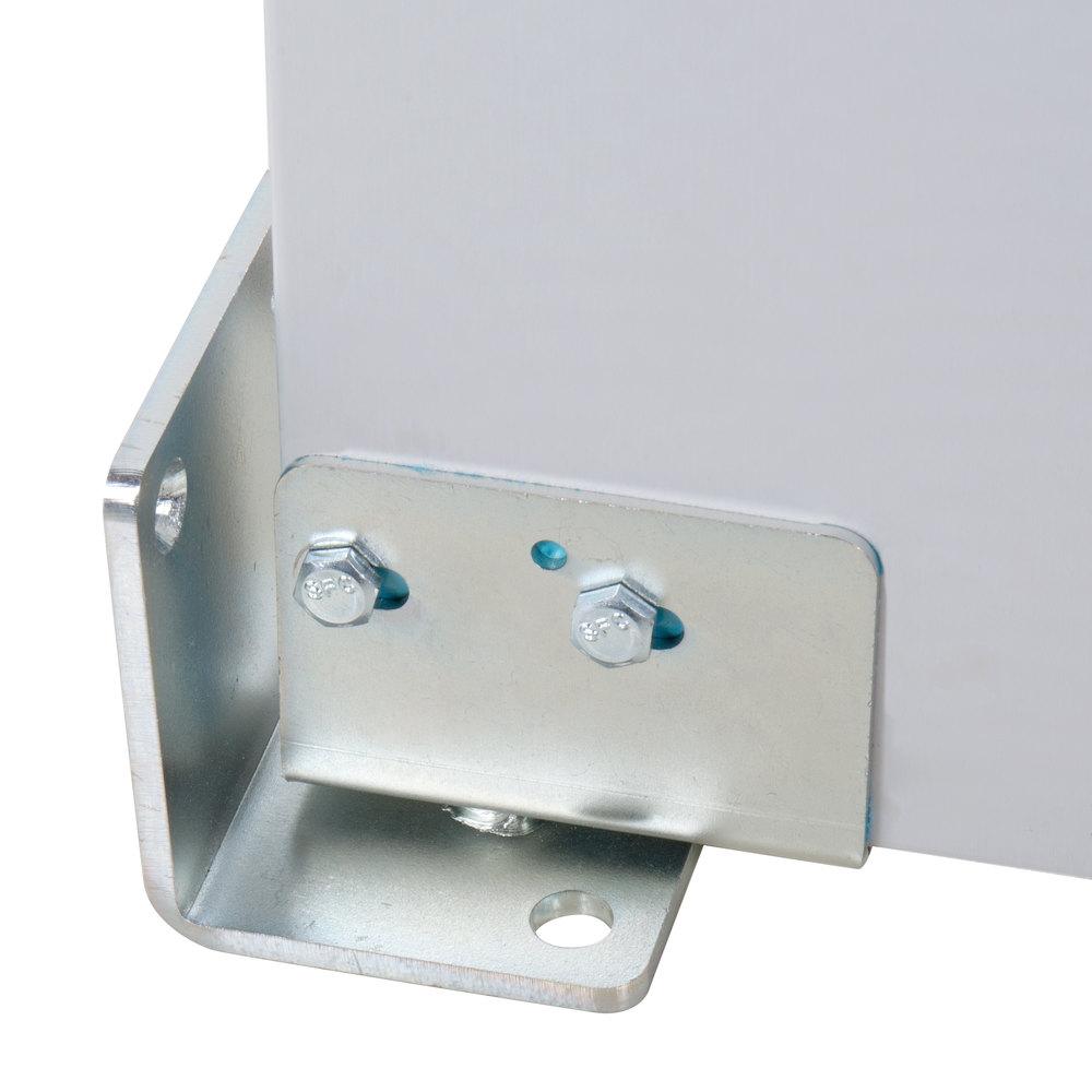 Regency Double Aluminum Swinging Traffic Door With 9 Quot X 14