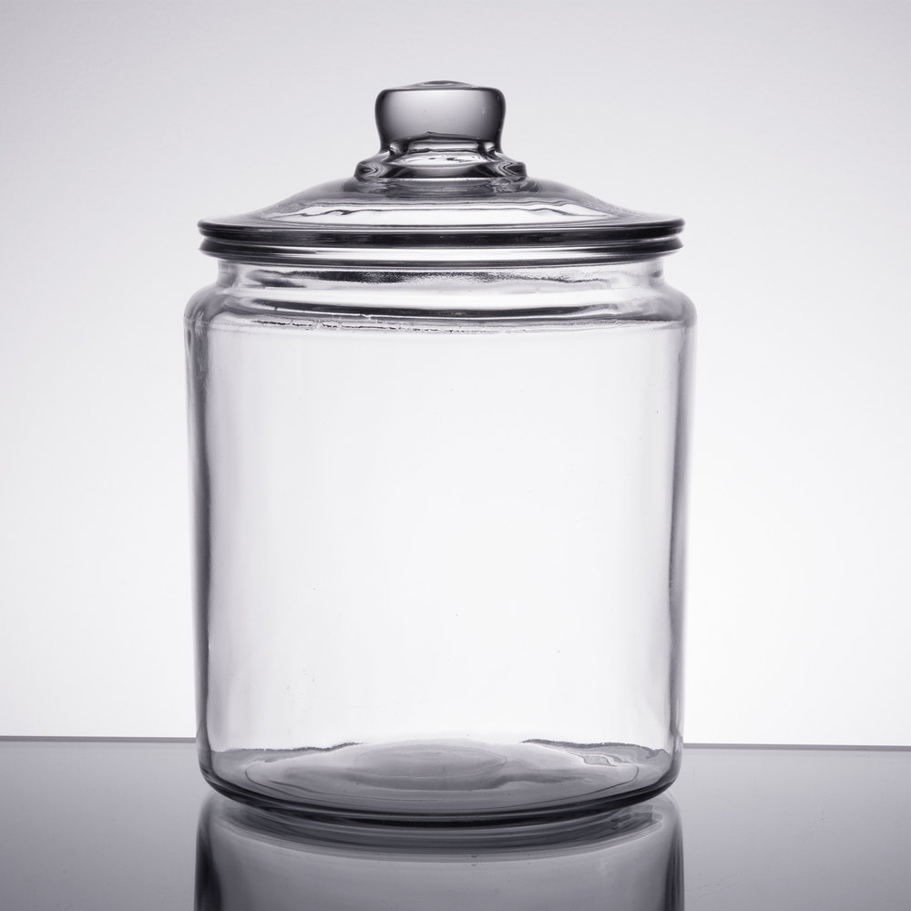 Anchor Hocking 85545R 12 Gallon Glass Jar with Lid