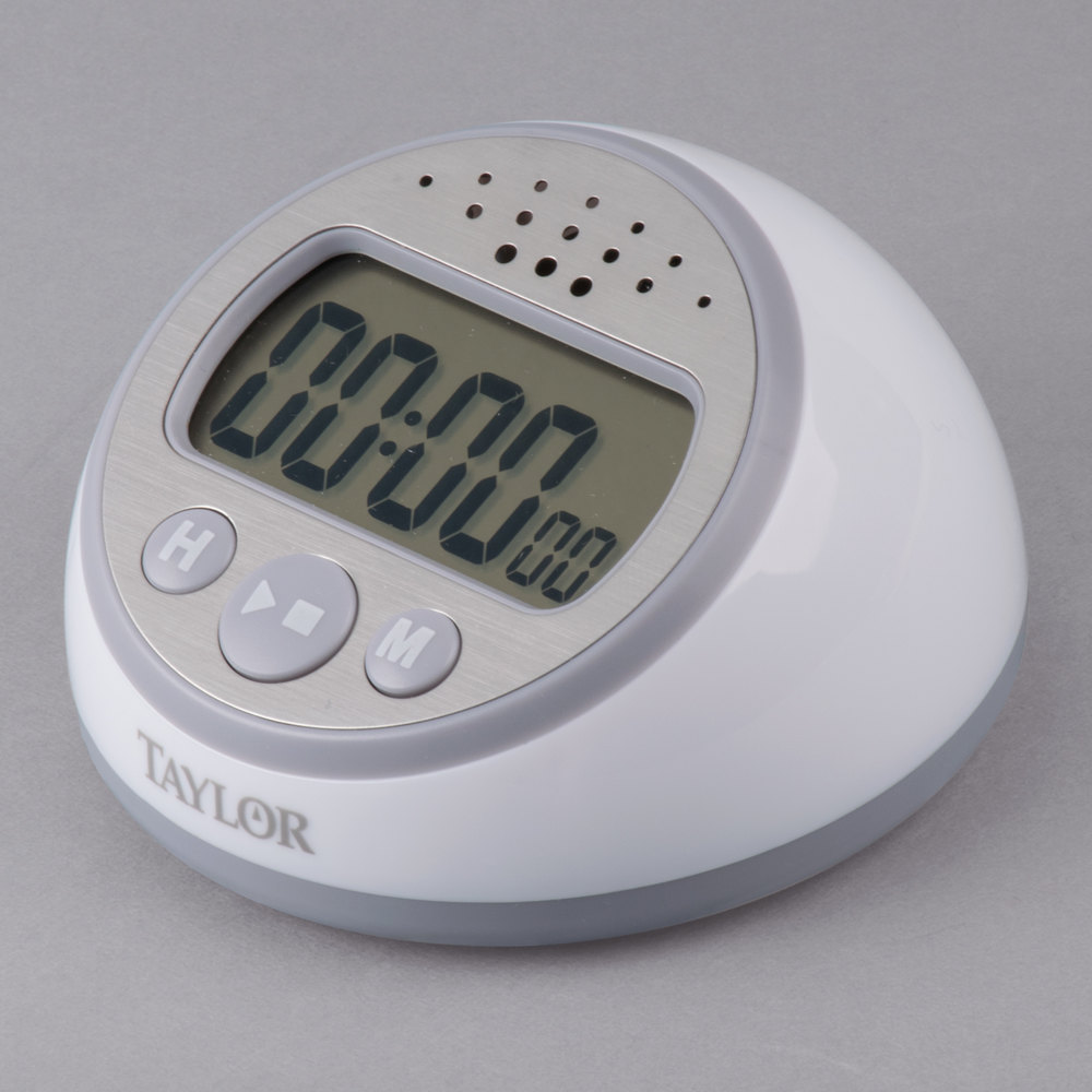 Taylor 5873 Extra Loud Digital Kitchen Timer With Clock
