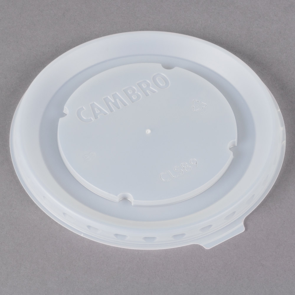 Cambro CLSB9190 Disposable Lid fits Cambro MDSB9110 9 oz. Insulated ...