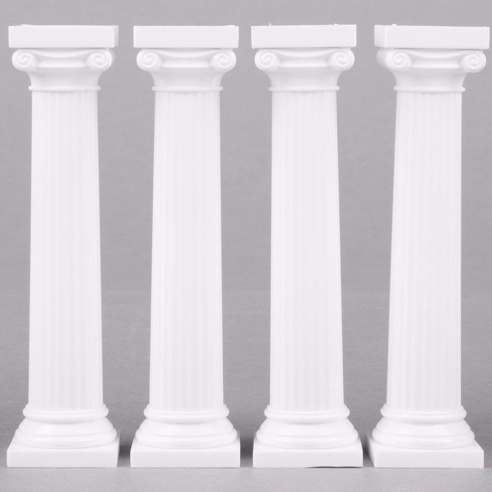 Cake Pillars | Cake Tiers | WebstaurantStore