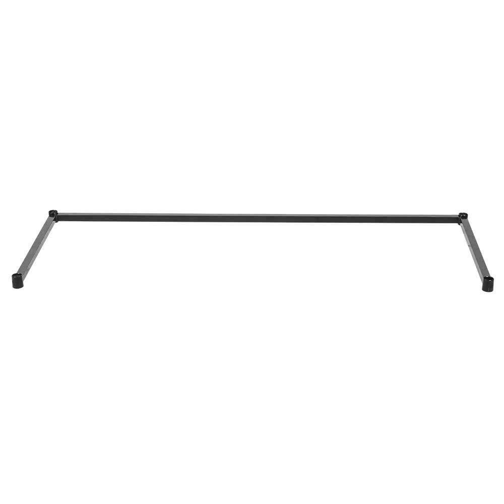 Regency 24 inch x 60 inch Black Epoxy 3-Sided Shelving Frame