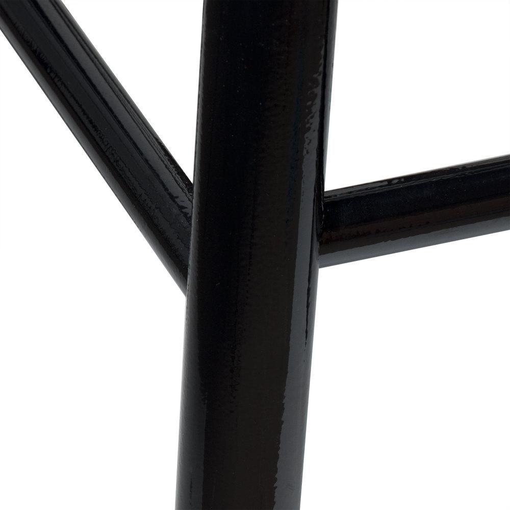 Lancaster Table amp Seating Spartan Series 24quot Black Metal  : 831715 from www.webstaurantstore.com size 1000 x 1000 jpeg 39kB