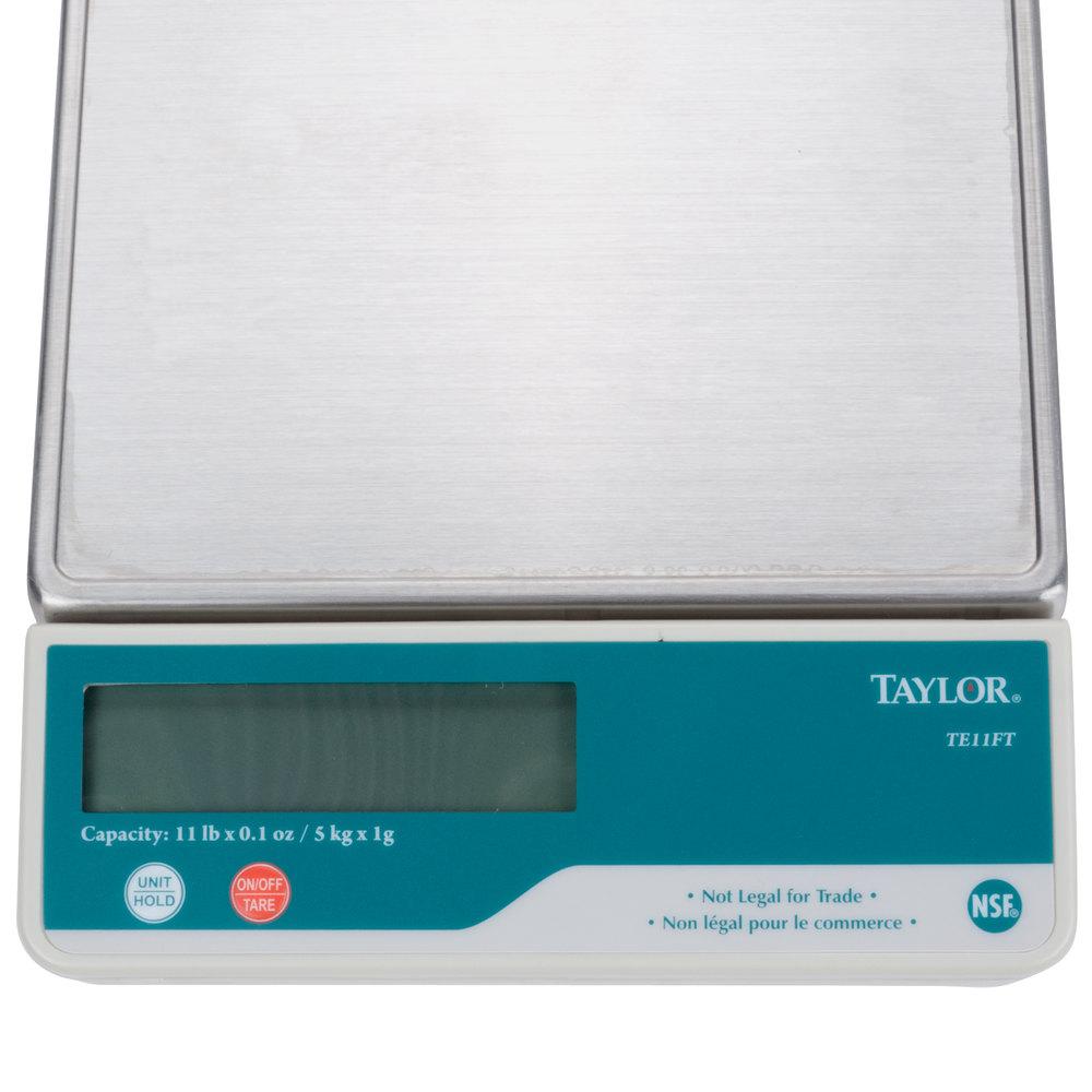 Taylor Scales Troubleshooting | kalecelikkapi24.com