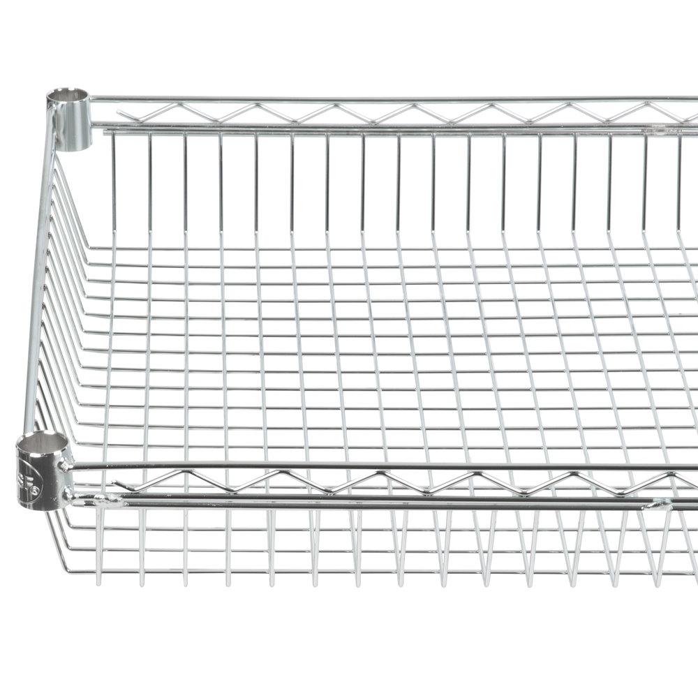 Regency 24 inch x 48 inch NSF Chrome Shelf Basket