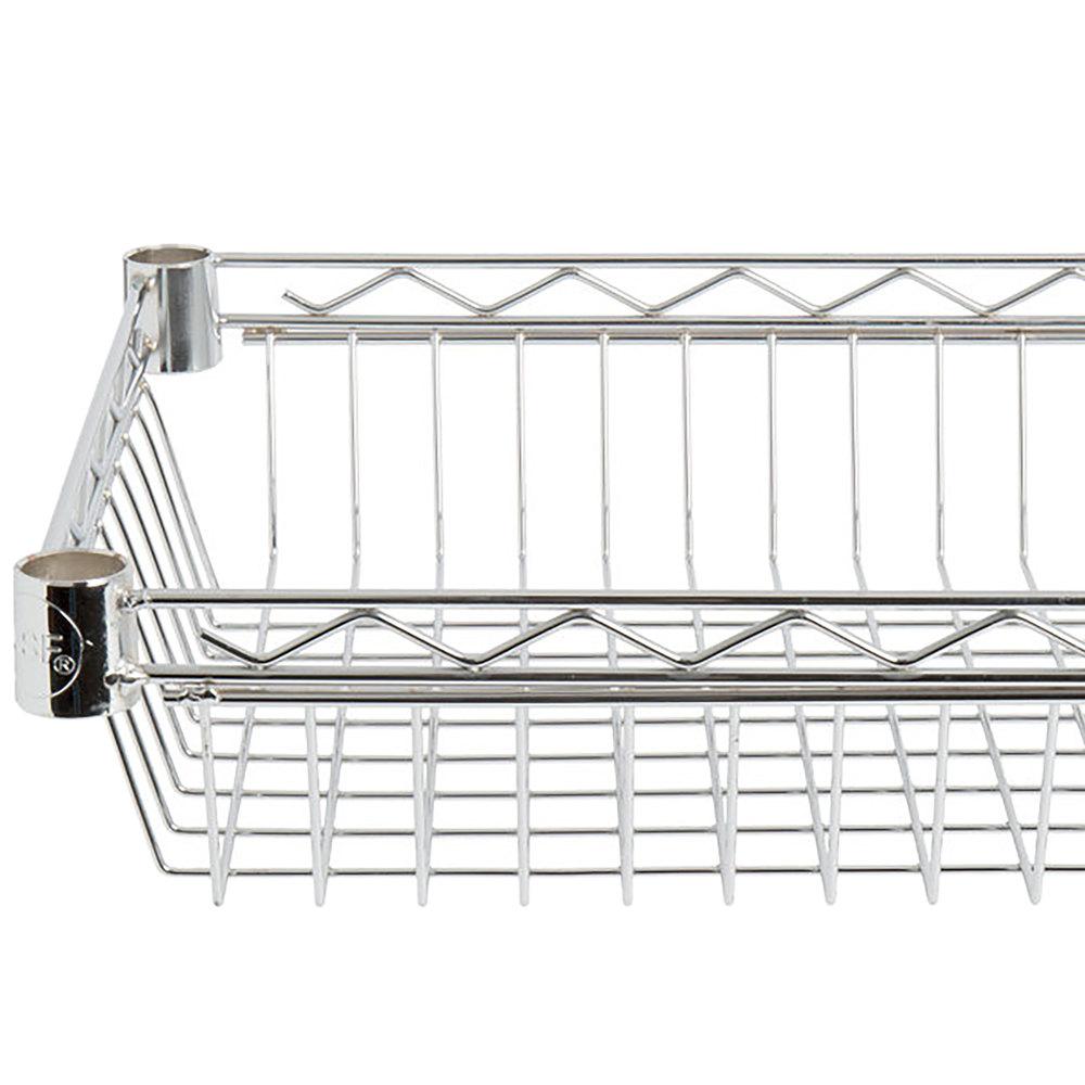 Regency 18 inch x 24 inch NSF Chrome Shelf Basket
