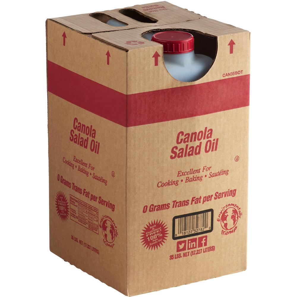 Box of Admiration canola oil