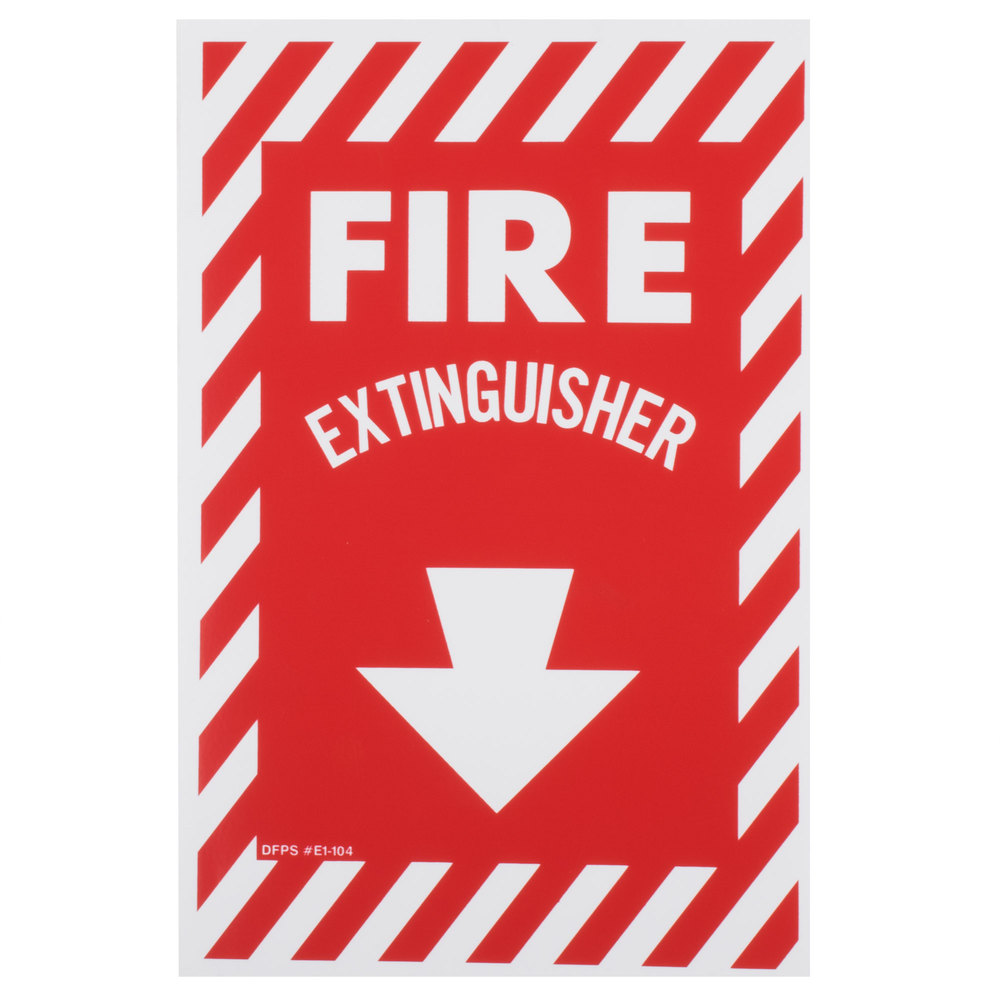 Fire extinguisher signs fire extinguisher labels buckeye fire extinguisher adhesive label with border red and white biocorpaavc Choice Image