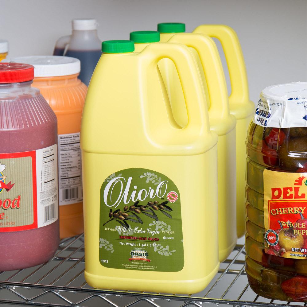 Olioro 1 Gallon 99 1 Soy Olive Oil Blend