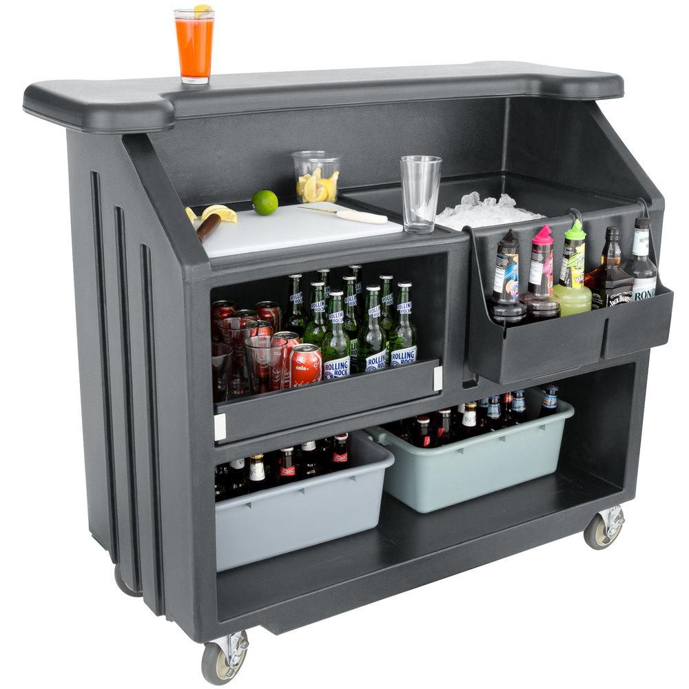 Cambro Bar540191 Cambar Granite Gray 54 Quot Portable Bar With