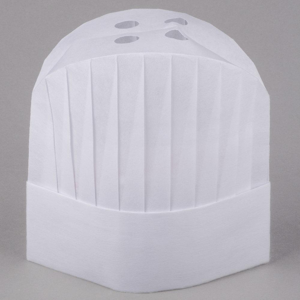 royal paper vch9 9 adjustable white viscose non woven disposable chef hat 50 case. Black Bedroom Furniture Sets. Home Design Ideas