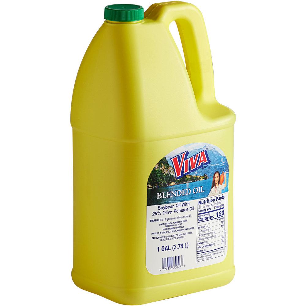 Jug of Viva oil blend