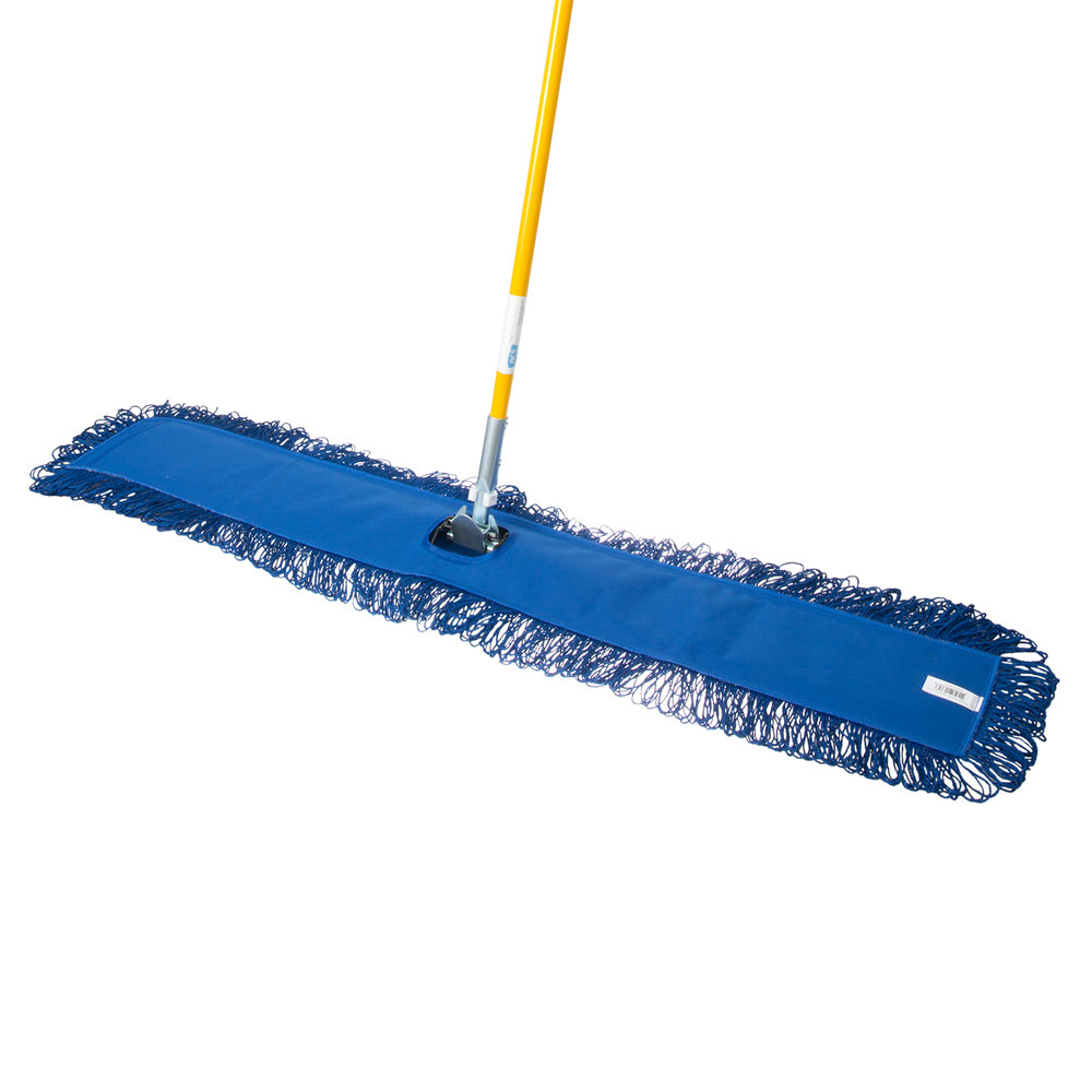 48 Quot X 5 Quot All In One Microfiber Dust Mop With 60 Quot Handle