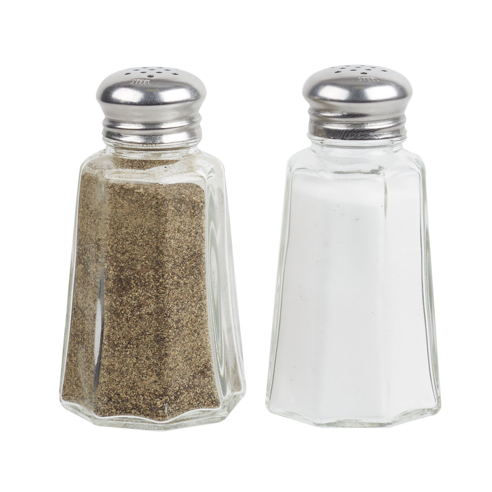 2 oz mushroom top salt and pepper shaker 4 pack. Black Bedroom Furniture Sets. Home Design Ideas